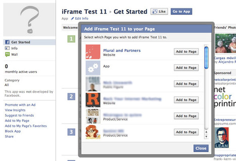How To Build A Facebook Landing Page With iFrames | Social media culture | Scoop.it