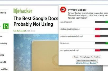 'Privacy Badger' Browser Add-On Protects You from Online Tracking | Higher Education & Privacy | Scoop.it