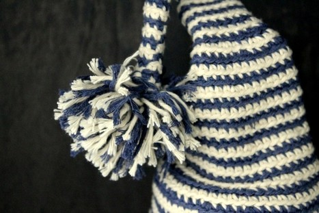 2 Hæklede Alfehuer | Crochet | Scoop.it