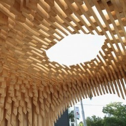 Design Miami : pavillon de bois par David Adjaye. | Architecture pour tous | Scoop.it