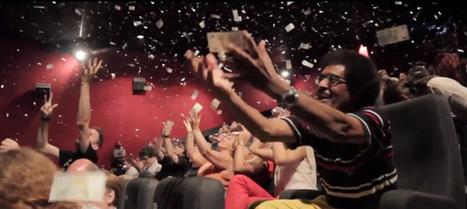 Une pluie de vrais billets dans une salle de cinéma à Bruxelles | streetmarketing | Scoop.it
