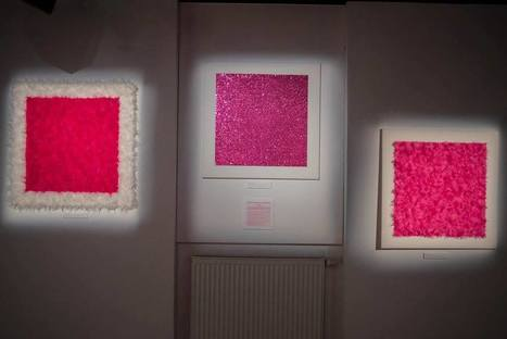 Iwona Demko: Pink square on a white background | Art Installations, Sculpture, Contemporary Art | Scoop.it