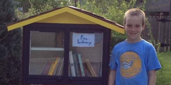 9-Year-Old's 'Little Free Library' Shut Down By City | Readin', 'Ritin', and (Publishing) 'Rithmetic | Scoop.it