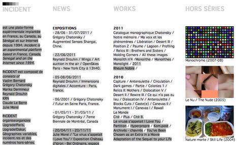 incident / netart platform | Artistes Traces 2014 | Scoop.it