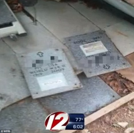 Cemetery worker in RI 'stole veteran's headstones to use for flooring' | Veterans | Scoop.it
