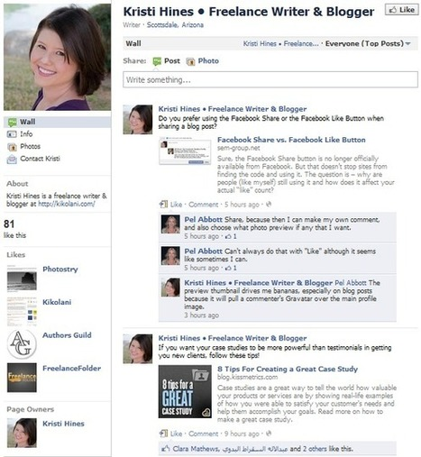 Tips for Starting a New Facebook Fan Page | English Classes | Scoop.it