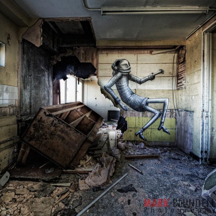 Phlegm – The Hotel – Mark Blundell Photography | Machinimania | Scoop.it