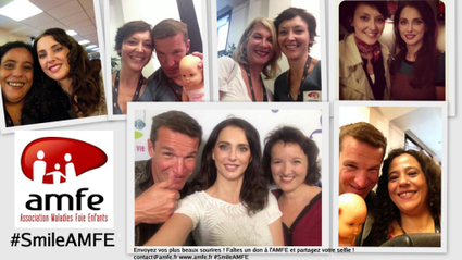 L'AMFE lance la campagne Un selfie, Un Don #SmileAMFE | Biology - IVD | Scoop.it