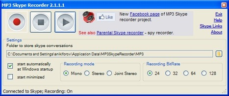 Freeware | MP3 Skype Recorder | technologies | Scoop.it