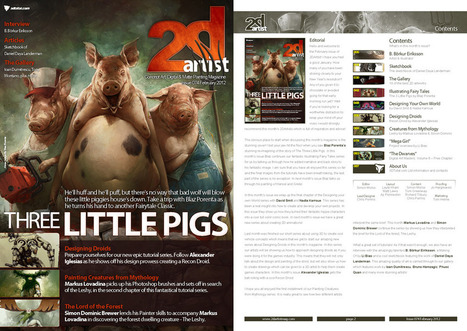 2DArtist: Issue 074 - February 2012 (Download Only) // | Wolf and Dulci Links | Scoop.it