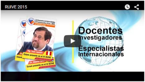Video: Convocatoria para el III-RUIVE-2015 | RedDOLAC | Scoop.it