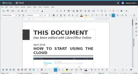Open365, alternativa a Google Drive y a Office 365 de Microsoft | Recursos didácticos y materiales para la formación del profesorado. Servicio de Innovación y Formación del Profesorado | Scoop.it