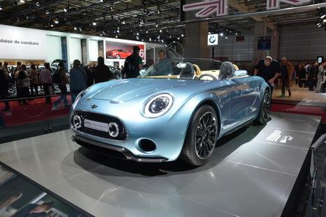 La Mini Superleggera Vision rayonne au Mondial de l'automobile - L'argus auto | Mini | Scoop.it