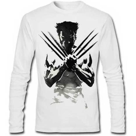 WOLVERINE FULL SLEEVE TEE | SAY IT LOUD | t shirt printing | Scoop.it