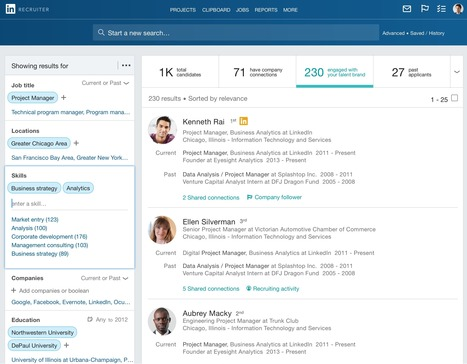 The Next Generation of LinkedIn Recruiter is Here | LinkedIn and Social Media Marketing | Scoop.it