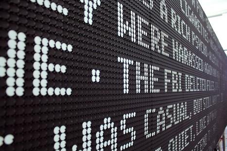 TNT's Electromagnetic Dot-Screen Billboard Enthralls Passersby | Psychology of Consumer Behaviour | Scoop.it