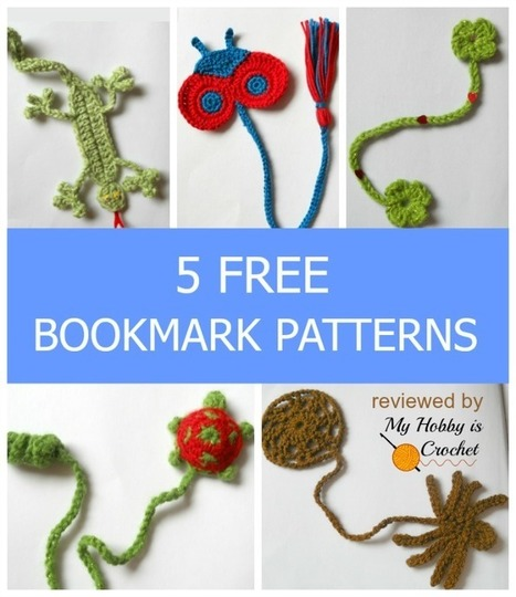 My Hobby Is Crochet: Bookmarks for Kids - 5 Free Crochet Patterns reviewed by My Hobby is Crochet | Free crochet patterns and tutorials | Scoop.it