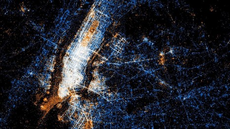 50 Maps Showing Where and What Happens in Cities Across the Globe | DataViz | Scoop.it