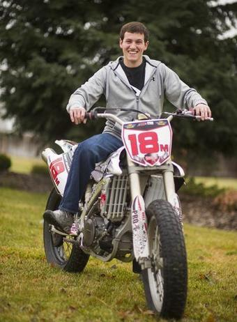 Maguire enjoys national title - The Spokesman Review | California Flat Track Association (CFTA) | Scoop.it