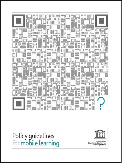e-learning, conocimiento en red: UNESCO policy guidelines for mobile learning | e-Learning, aprendizaje electronico. | Scoop.it