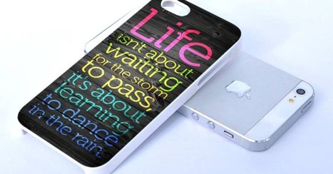 10 iPhone Cases With Inspirational Quotes | Life @ Work | Scoop.it