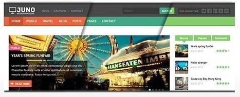 Juno Responsive WordPress Magazine Theme (Blog / Magazine) - WORDPRESS THEMES | Free Wordpress Themes | Scoop.it