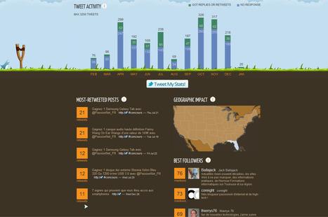 Tweetsheet, votre compte Twitter dans une infographie | Méli-mélo de Melodie68 | Scoop.it