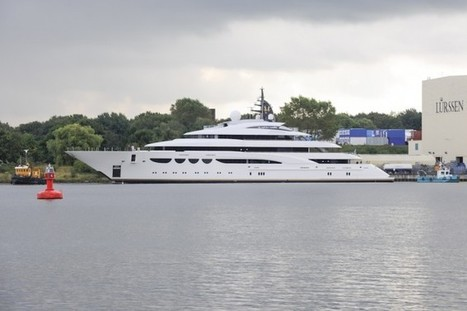 Colombo 32 Super Indios yacht tender for the 88m Lurssen megayacht | My Yonk | Scoop.it