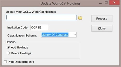 Opening the Door: A First Look at the OCLC WorldCat Metadata API | Library Innovation | Scoop.it