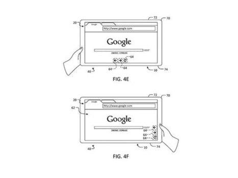 Google : un brevet pour une interface mobile qui s'adapte à la manière dont on tient son terminal | Ntic Hot Topics | Scoop.it