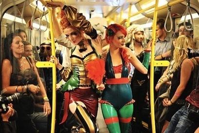 Mode anticonventionnelle à Berlin | COIFFURE I Tendance coiffure 2012-2013 | Scoop.it