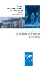 Revue de Sèvres : «le plaisir et l'ennui à l'école» | VousNousIls | L'enseignement dans tous ses états. | Scoop.it
