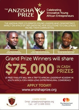Top 25 Young Entrepreneurs From Around Africa Shortlisted For ... | Change The World | Scoop.it
