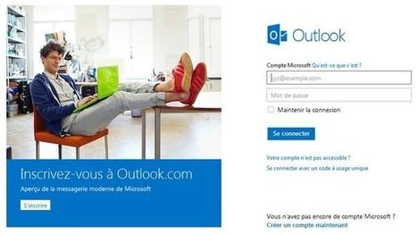 Outlook.com : la nouvelle messagerie moderne de Microsoft   Gotta see it   Scoop.it