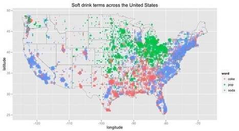 Map of the Day: Soda vs. Pop vs. Coke | AP HUMAN GEOGRAPHY DIGITAL  STUDY: MIKE BUSARELLO | Scoop.it