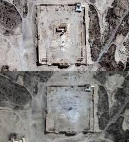A Palmyre, le grand temple de Baal a été détruit | Le Monde | Kiosque du monde : Asie | Scoop.it