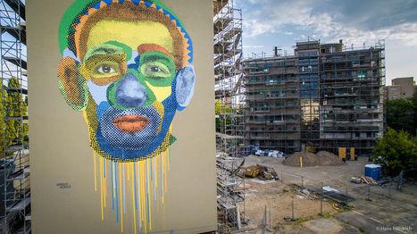 #StreetArt Artists #Celebrate #Human #Diversity In #Berlin. #art #murals #colour | Luby Art | Scoop.it