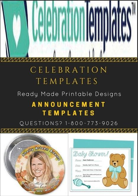 Celebration Templates – A4 by celebration.template | Ready Made ...