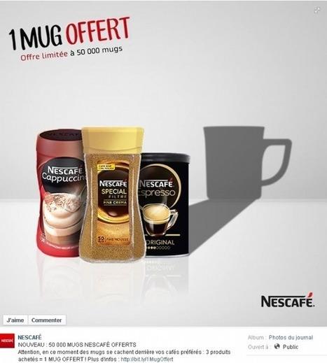 Nescafé offre des mugs collectors sous forme de prime promotionnelle | magasin connecté | Scoop.it