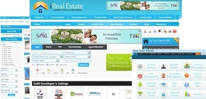 Php Real Estate Script, Real Estate Script, Php Property Portal Script India, Property Script   php scripts clone market   Scoop.it