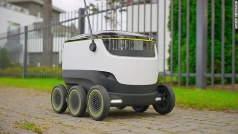 Switzerland enlists robots to help deliver mail | Future Trends and Advances In Education and Technology | Scoop.it