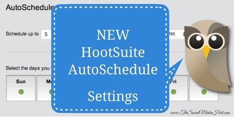 HootSuite Improves Scheduling With Daily Customization | Curation Inbound Marketing | Scoop.it