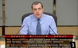 'Bitcoin Guru' Andreas Antonopoulos Appears Before Canadian Senate | BITCOIN NEWS - LATEST! | Scoop.it