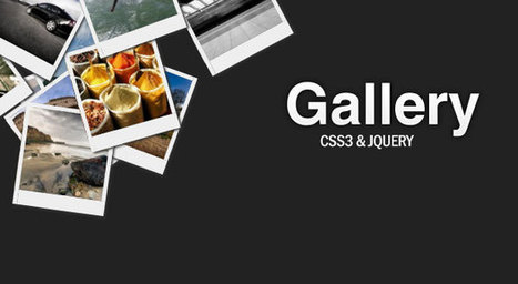 An Awesome CSS3 Lightbox Gallery With jQuery | Tutorialzine | Incursionando en el Diseño Web | Scoop.it