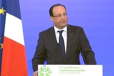 Conférence environnementale: ce qu'a annoncé François Hollande | Tout le web | Scoop.it