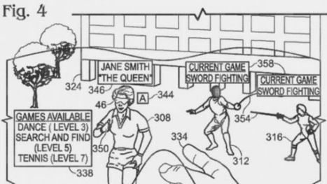 Microsoft planning multiplayer locative AR games using a mobile kinect? - patent filing details   Digital Archeology   Scoop.it