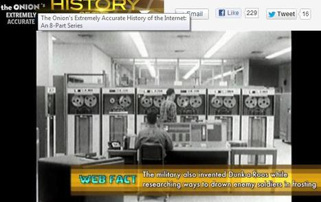 The Extremely Accurate History of the Internet: The Onion's new satirical documentary lands on Yahoo | Collingwood Comedy | Scoop.it