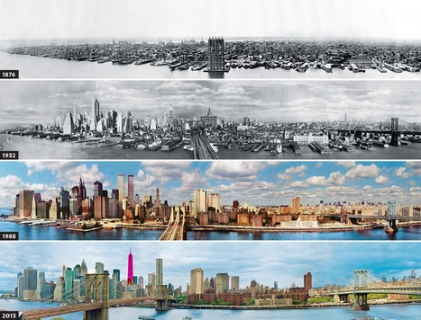 NYC Skyline Over the Years (1876-2013) | Through the Lense | Scoop.it