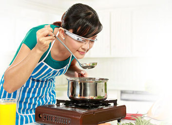 Ready for hands-free cooking? Try KitchMe Google Glass app   Google   Scoop.it