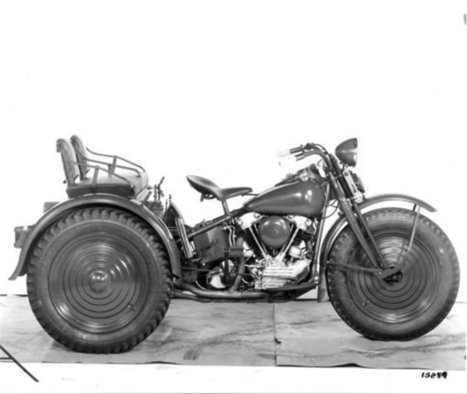 Top 5 Harley-Davidson Prototypes of WWII | Harley Rider News | Scoop.it